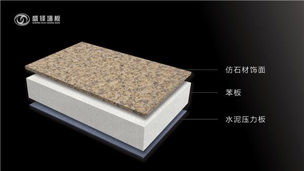 仿石材保温复合板