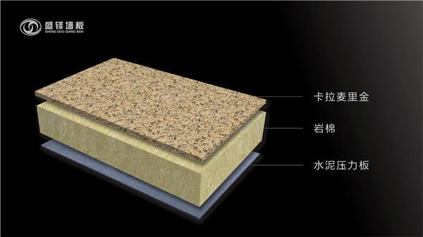 超薄石材保温复合板