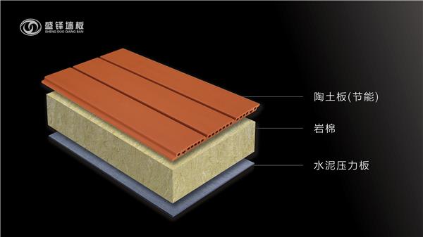 陶土板节能保温复合板