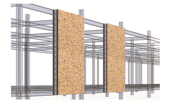 仿花岗岩钢混结构yabosport体育墙板